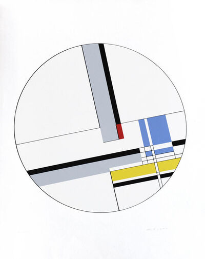 Jean Gorin, 'Composition spatio-temporelle n.36', 1973