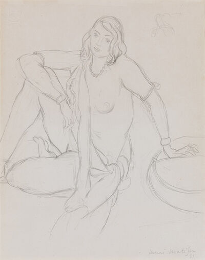 Henri Matisse, 'Femme Nue Assise (Seating Female Nude)', 1931