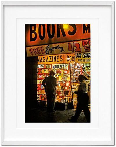 "Marvin E. Newman, 'Marvin E. Newman. Art Edition ""Broadway, 1954""', 1954"