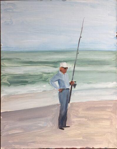 Evan Jones, 'Grandpa on the Beach', 2018