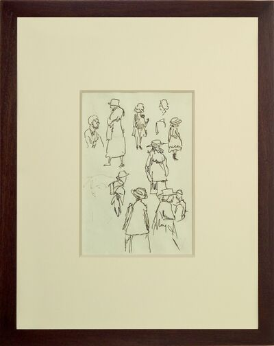 Edward Hopper, 'Sheet of Studies', ca. 1900
