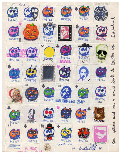 Buster Cleveland, 'Untitled (Buster Stamps)', 1984