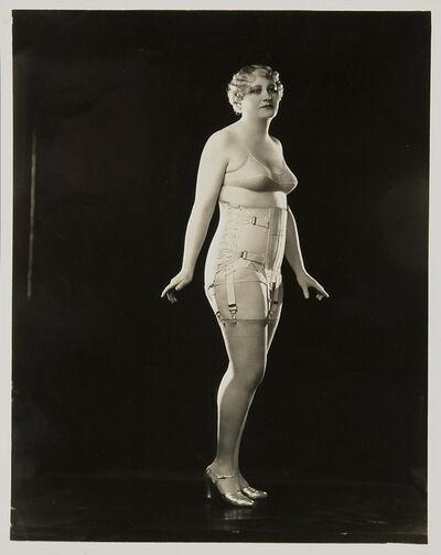 Berlei Ltd, 'Model wearing Berlei girdle and brassiere', ca. 1930
