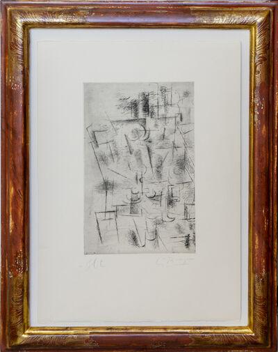 Georges Braque, 'Composition (Nature morte aux verres)', 1912 (1950)