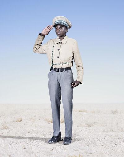 Jim Naughten, 'Herero Cadet Saluting', 2012