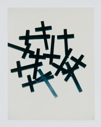 Andy Warhol, 'Andy Warhol, Polaroid Photograph of Crosses, 1982', 1982