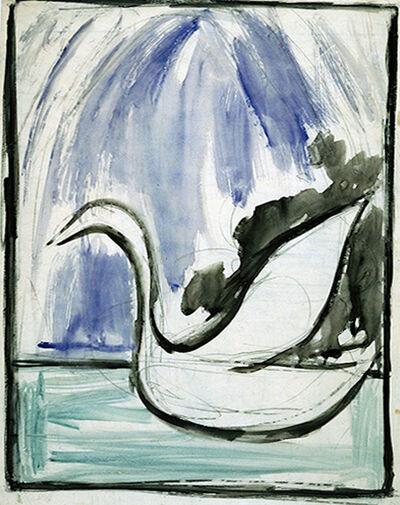 Joseph Stella, 'Swan', ca. 1925