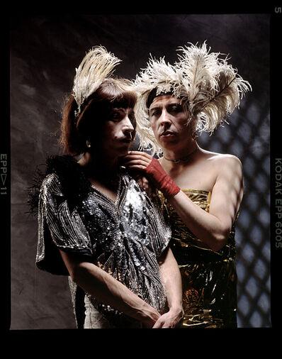 Lo que el SIDA se llevó: Yeguas del Apocalipsis / Francisco Casas y Pedro Lemebel, 'Lo que el SIDA se llevó', 1989