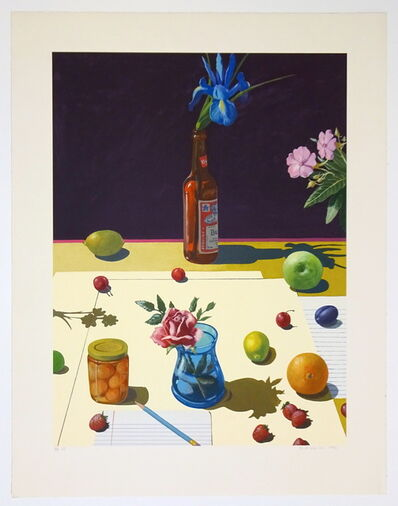 Paul Wonner, 'REDUCED FROM $2,500 - Still Life with Bud', 1992