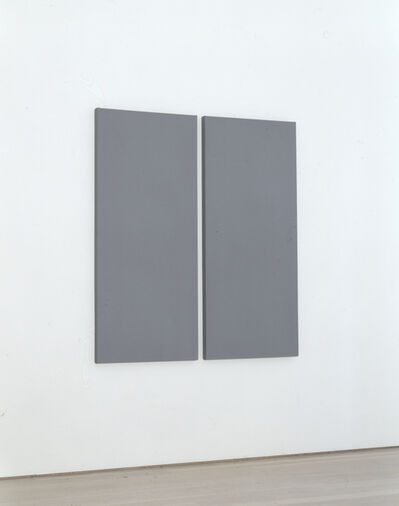 Alan Charlton, 'Painting in 2 Vertical Parts', 2005