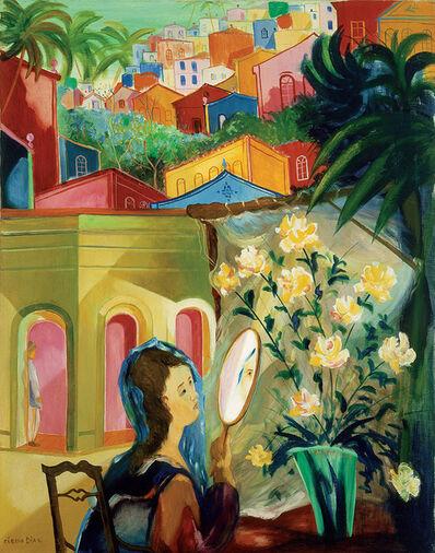 Cícero Dias, 'Lady at the Mirror', 1950's
