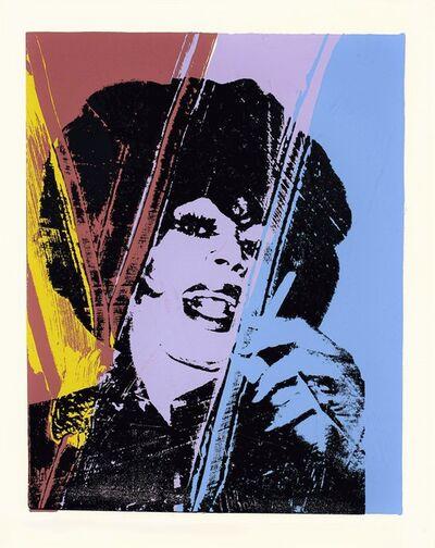 Andy Warhol, 'Drag Queen -unique-', ca. 1975