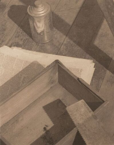 Paul Outerbridge, 'Wooden Box with Saw', 1923