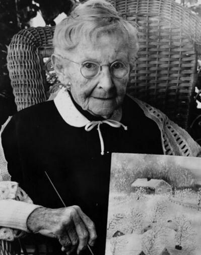 Bert Stern, 'Grandma Moses (Anna Mary Robertson Moses)', 1950