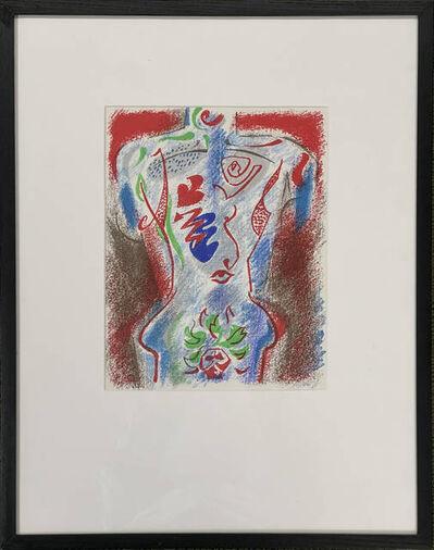 André Masson, 'Untitled (Torso)', 1972