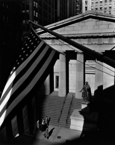 Berenice Abbott, 'Treasury Building, New York'