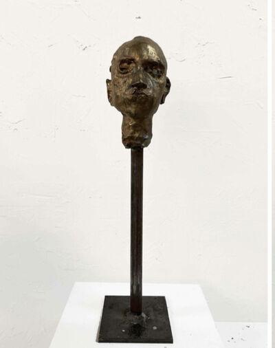 Carlos Quintana, 'Bronze Head #3', 2019