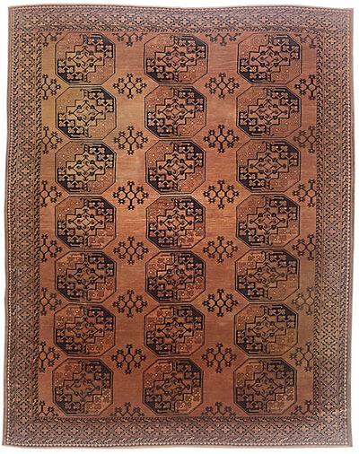 Rug, 'Hand Knotted All Over Ersari Afghan Rug Circa 1930 ', ca. 1930