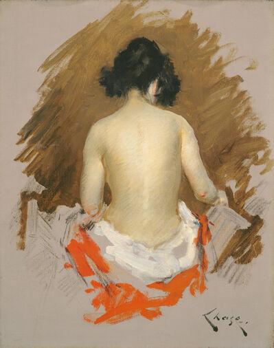 William Merritt Chase, 'Nude', ca. 1901