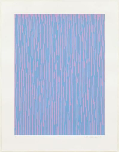 Ian Davenport, 'Etched Colourful 10', 2011