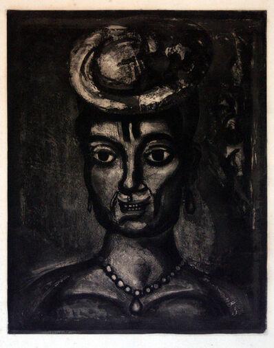 Georges Rouault, 'Femme Affranchie A' Quatorze Heures Chante Midi', 1948