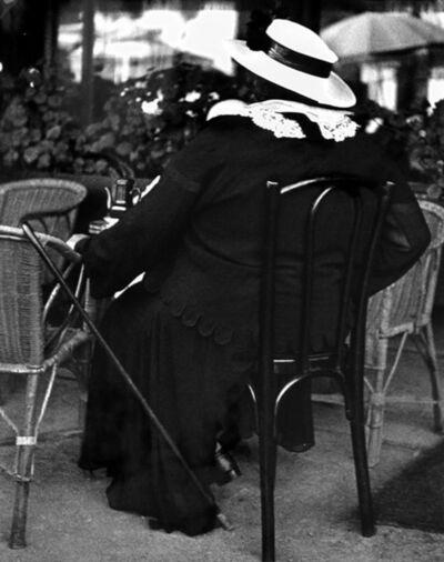 Lisette Model, 'Famous Gambler', 1934