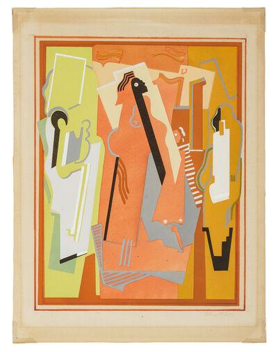 Albert Gleizes, 'Peinture a trois elements'