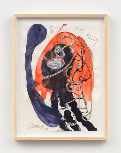 Jonathan Meese, 'MY BELLY BELLT: FRIVOLUNTI!', 2020