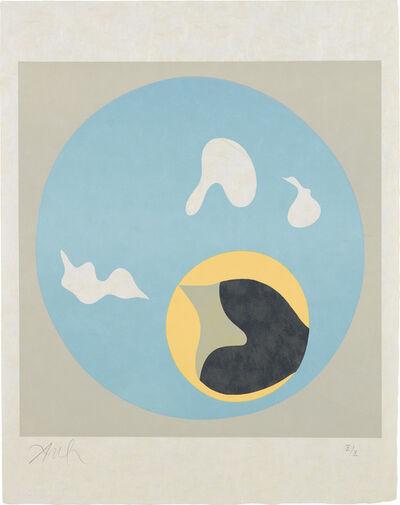Jean Arp, 'Le Soleil recerclé (Around the Sun): plate 18', 1962-65