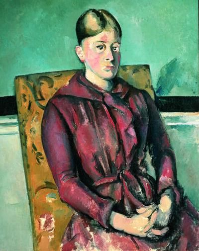Paul Cézanne, 'Madame Cézanne au fauteuil jaune (Madame Cézanne in a Yellow Armchair)', 1888-1890