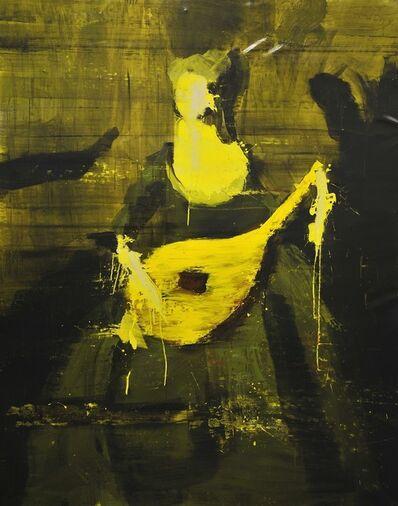 Lars Teichmann, 'Yellow Queen', 2018