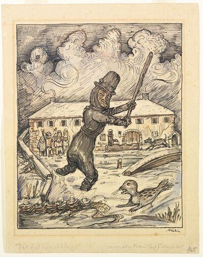 Alfred Kubin, 'Seals thug ', ca. 1923