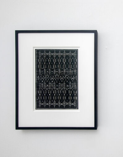 Victoria Burge, 'Typewriter Fabric 1', 2019