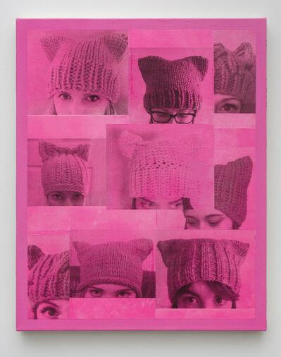 Michael St. John, 'Democracy (Pussyhat)', 2017