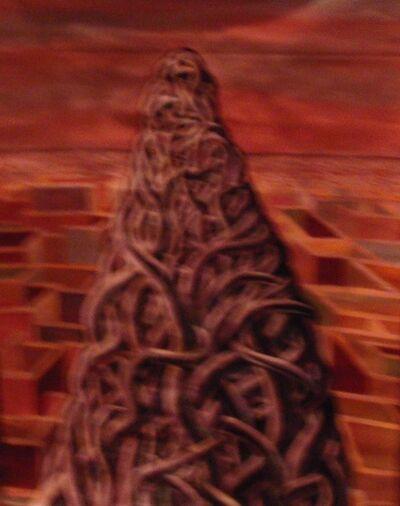 A.M.Manoj, 'Struggling Climber', 2007