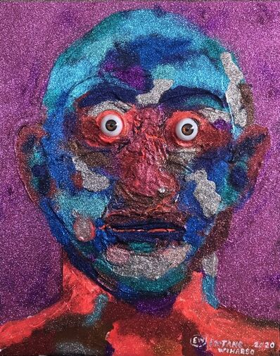 Entang Wiharso, 'Camouflage Portrait', 2020