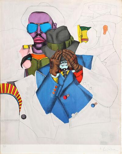 Richard Lindner, 'NY Men (Fun City)', 1971