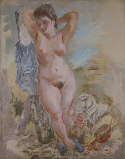 George Grosz, 'Female Nude, Cape Cod', 1940