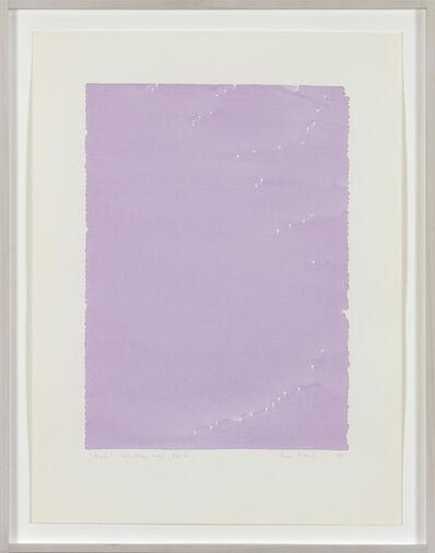 Irma Blank, 'Radical Writings, Dal libro totale AX-15', 1985