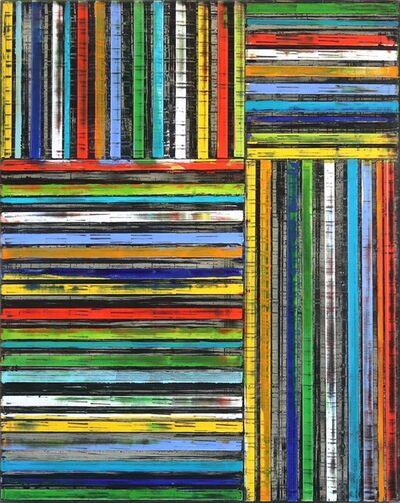 Petra Rös-Nickel, 'Stripes in Rainbow', 2019