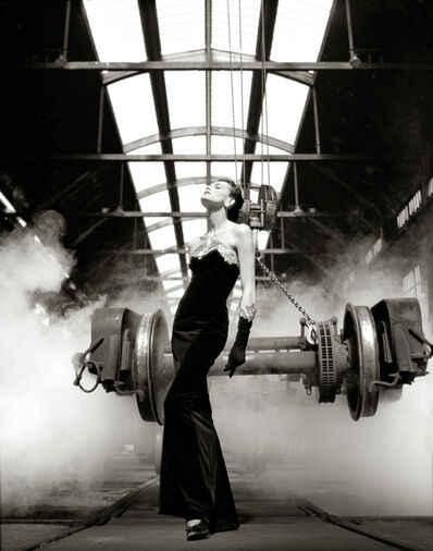 Albert Watson, 'Ines Dela Fressange - Chanel', 1985