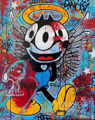 Speedy Graphito, 'BE MY ANGEL', 2014