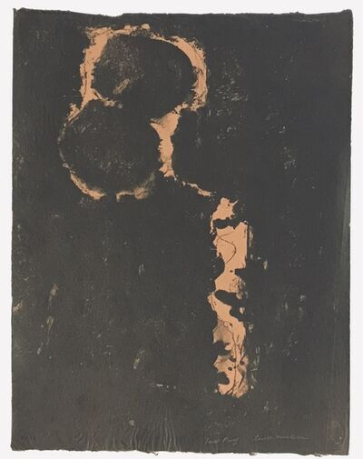 Louise Nevelson, 'Untitled (Lithograph Japanese Rice Paper)', 1965-66