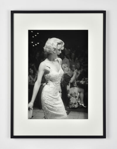 Nan Goldin, 'Lola modeling as Marilyn, Boston', 1972