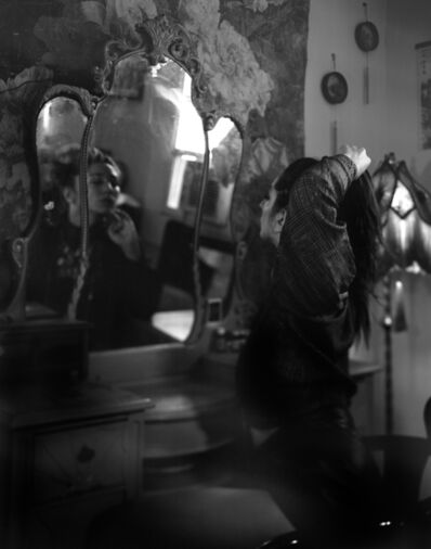 Patrice Aphrodite Helmar, 'Jules at her vanity, New Orleans', 2019
