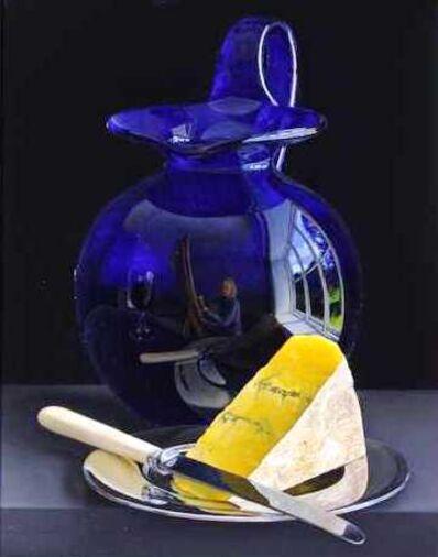 Jessica Brown, 'Bristol Glass Blue Cheese'