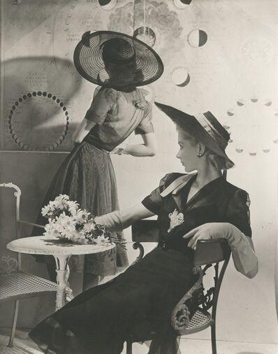 Horst P. Horst, 'Summer Hats - Fonssagrives and Lane', 1940