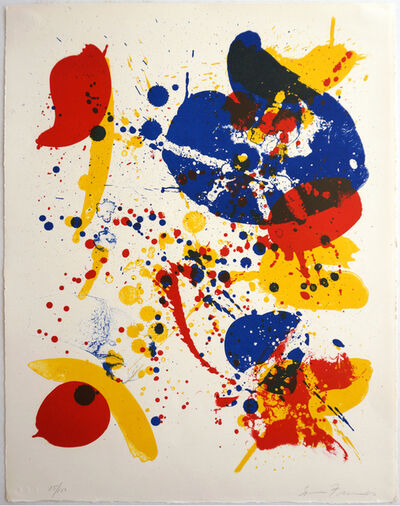 Sam Francis, 'An 8 Set - 6', 1963