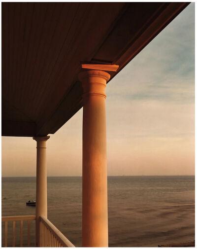 Joel Meyerowitz, 'Gold Column, Porch, Provincetown', 1977