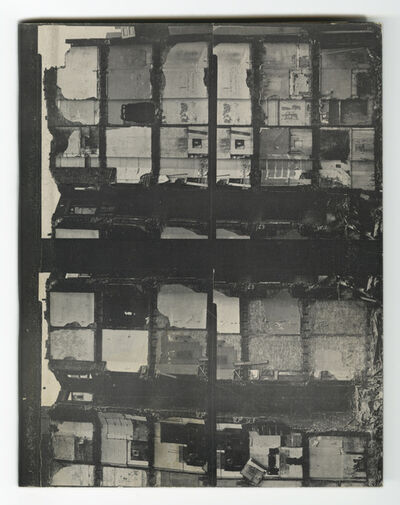 Gordon Matta-Clark, 'Walls Paper', 1973